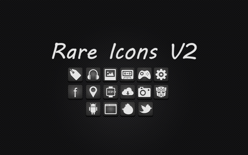 Rare icons V2 by HunterDsg