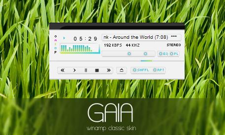 GAIA winamp classic by bernadinho