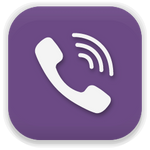 Viber. Icons style Pacifica