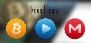 Round Icons. Updated