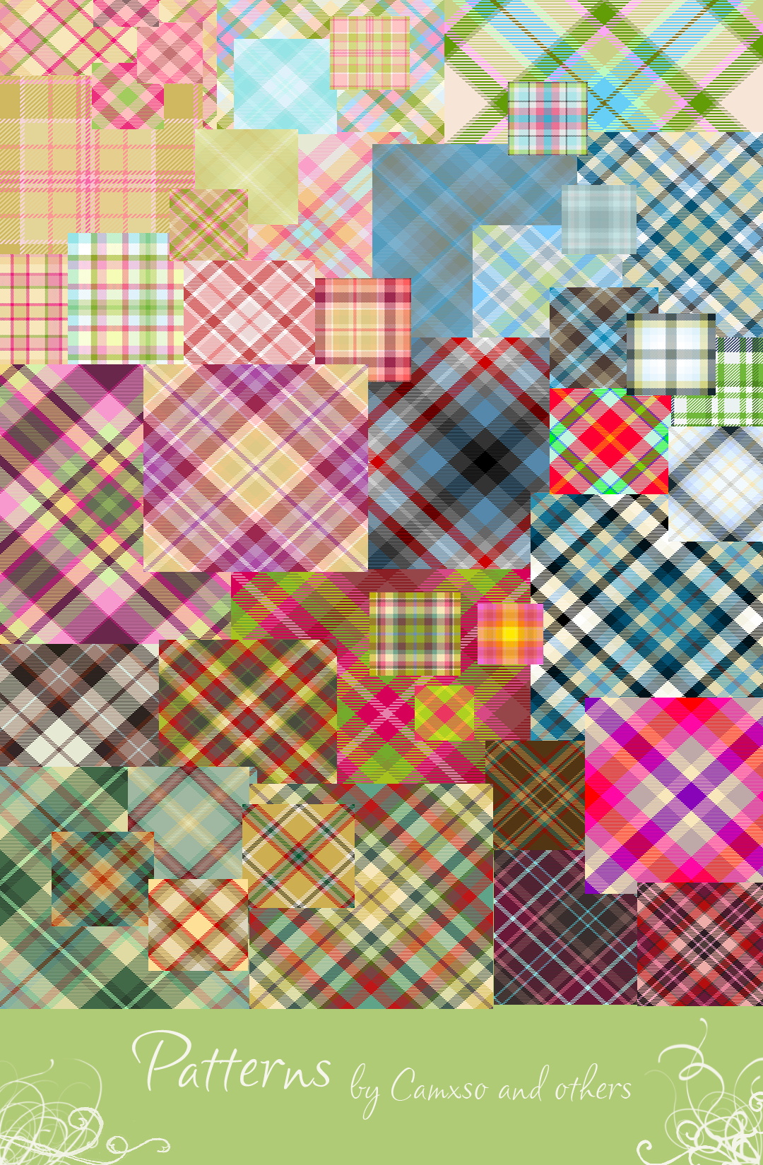 Tartan Patterns by Camxso