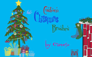 Xmas Brushes by Camxso