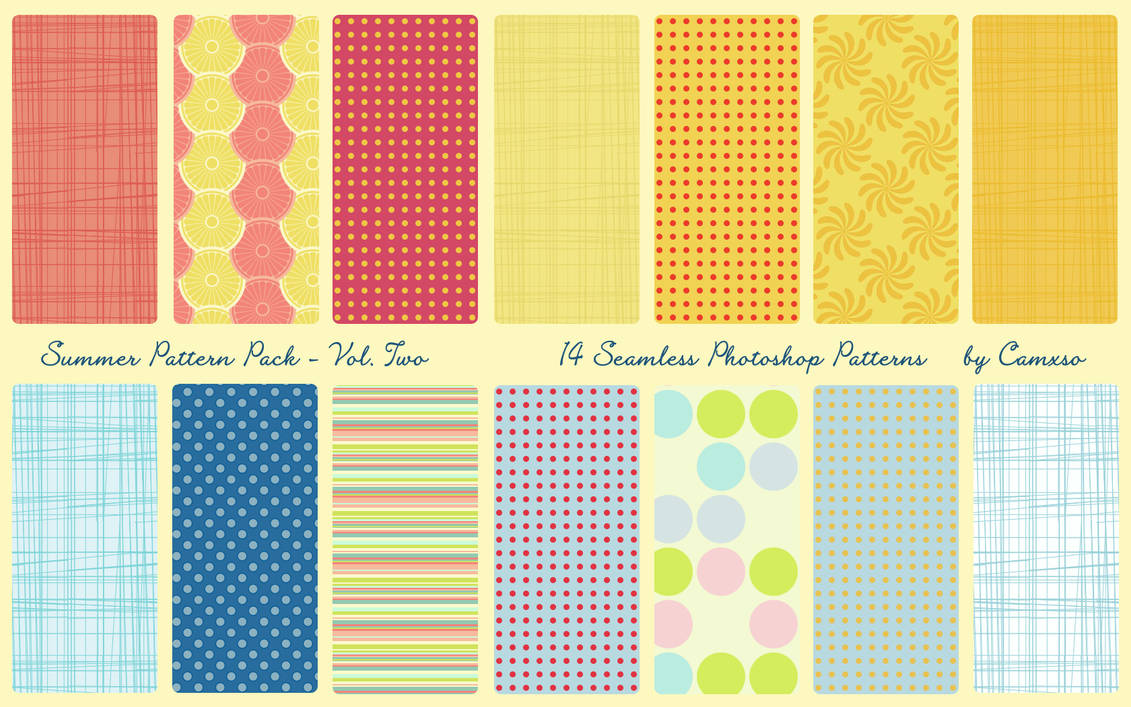 Summer Pattern Pack Vol. 2 by Camxso
