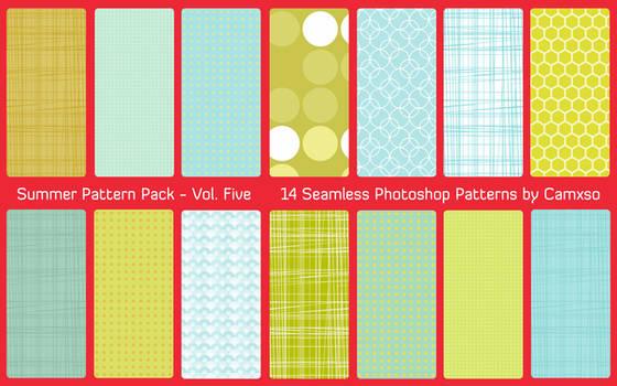 Summer Pattern Pack Vol. 5