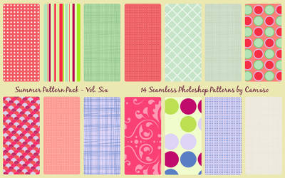 Summer Pattern Pack Vol. 6