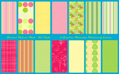 Summer Pattern Pack Vol. 8 by Camxso