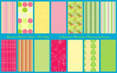 Summer Pattern Pack Vol. 8