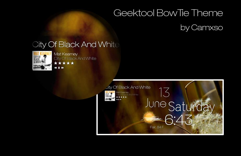 Geektool BowTie Theme by Camxso