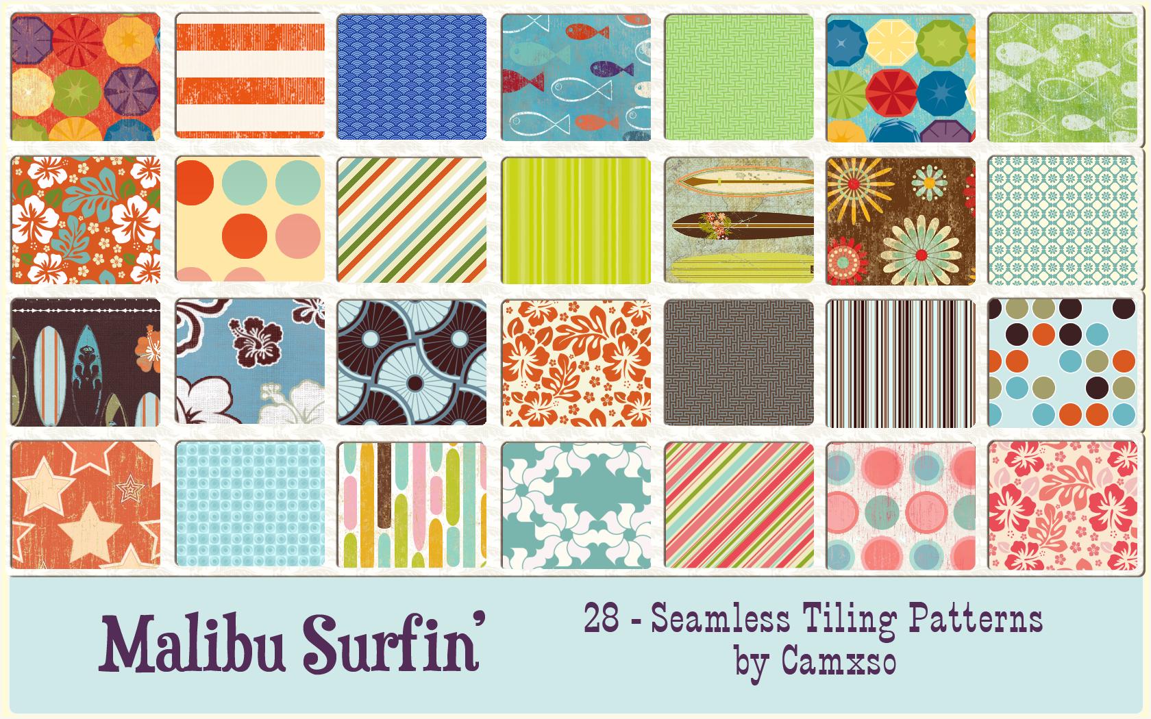 Malibu Surfin' by Camxso