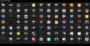 Android Iconset 70x70