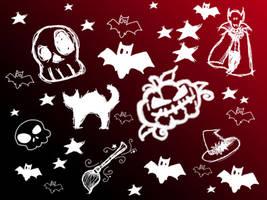Halloween Set by Mirella-Gabriele