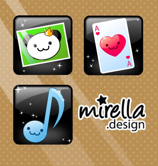 Sweet Icons by Mirella-Gabriele