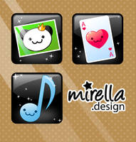 Sweet Icons by Mirella-Gabriele