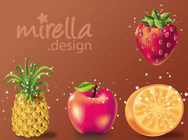Fruits by Mirella-Gabriele