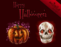 Halloween Desctop Icons by Mirella-Gabriele