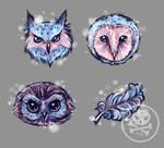 Owl ICON Set