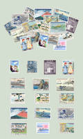 sushibird.com - Japanese stamps by sushibird