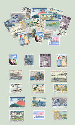 sushibird.com - Japanese stamps