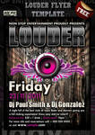 Louder Party Flyer
