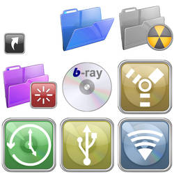 Glossy Iconset v2 for Mac