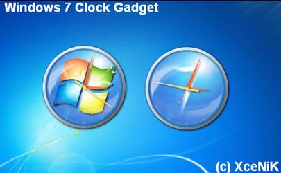 Windows 7 Clock Gadget