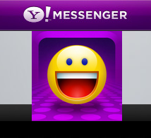Yahoo Mesenger For Iphone Icon by XceNiK