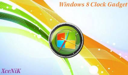Windows 8 Clock Gadget