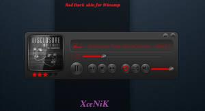 Red Dark Player for Winamp