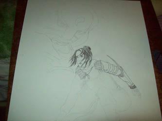 A Progression of a Lan Fan by SpiritOnParole