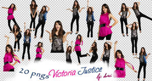 Victoria Justice Png Pack by dorina-site