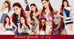 Ariana Grande Png Pack by dorina-site