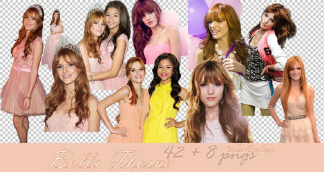 Bella Thorne Png Pack by dorina-site