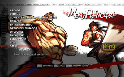 sagat-ryu menu by kenji490