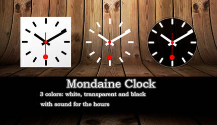 Mondaime clock 1 by kenji490