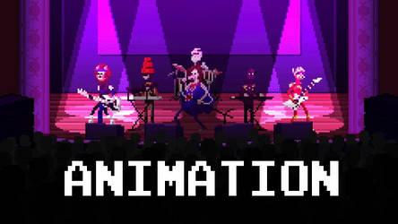 TWRP - No Pants Dance (8-Bit Cover) Animation