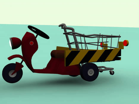 Fagin's scooter