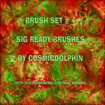 Brush Set 4 Sig Ready Brushes