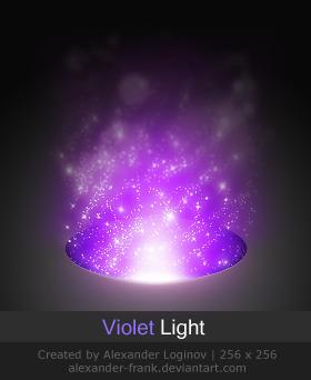 Violet Light by AlexanderLoginov