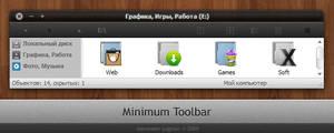 Minimum Toolbar