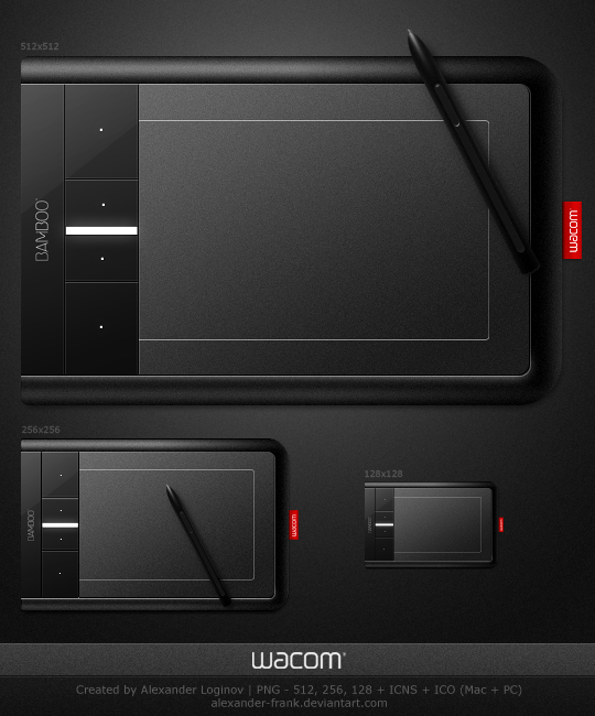 Wacom Bamboo Fun Pen and Touch by AlexanderLoginov