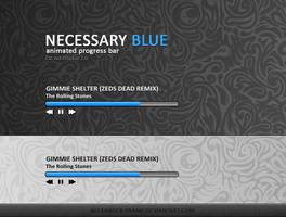 NECESSARY BLUE by AlexanderLoginov