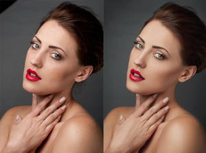Jessica Porter Retouching 1 Before and After