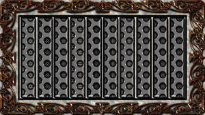 40 Light Grey Mesh Pattern 001