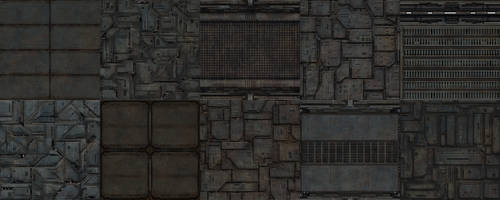 Rusty Style Texture Pack 03 by llexandro