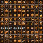 Dark Golden Icon Pack