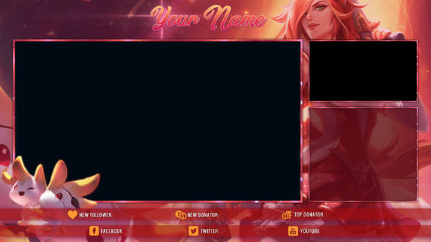 [FREE] Star Guardian Miss Fortune - Stream Overlay