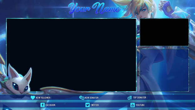 [FREE] Star Guardian Ezreal - Twitch Overlay
