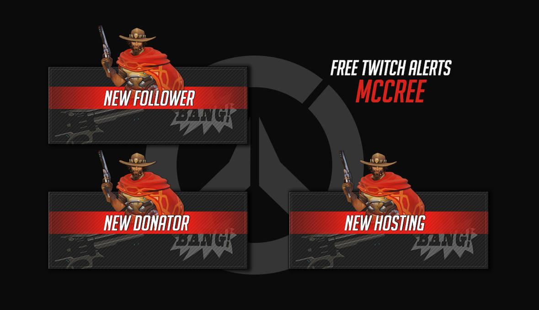 FREE] McCree - Twitch Alerts - Overwatch by Psychomilla on DeviantArt