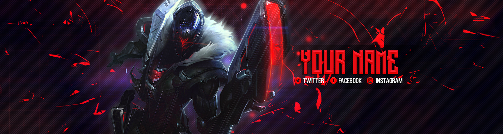 Lol Project Jhin Twitch Banner By Psychomilla On Deviantart