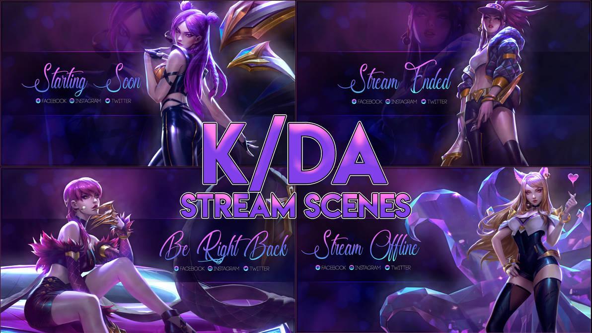 K/DA Stream Offline + Scenes